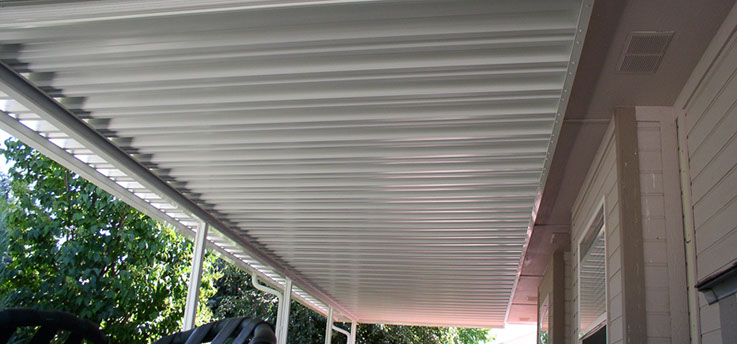 We use high quality Amerimax products that require no painting. Our patio covers are weather, termite, and insect resistant. Reliable protection